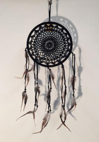 Dreamcatcher Medium 22cm schwarz