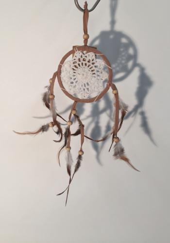 Dreamcatcher Mini 9cm natur