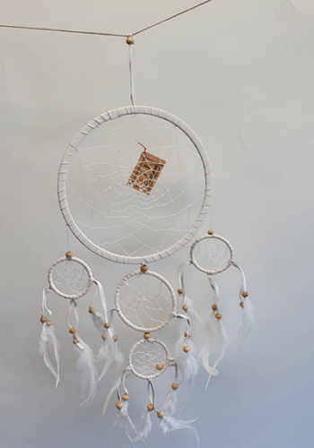 Dreamcatcher soft 5 Rings 22cm