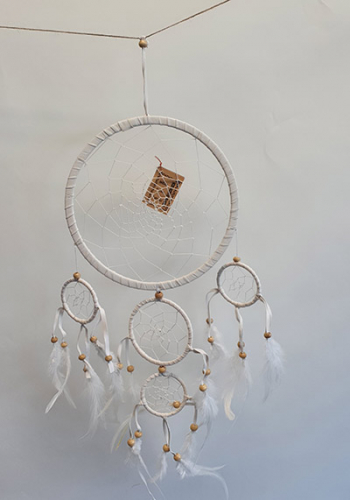 Dreamcatcher soft 5 Rings 15cm