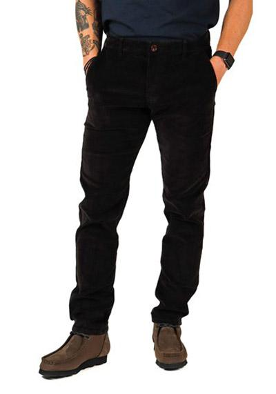 Pant Farah Elm Regular Fit Cord black