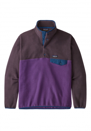 Fleece Patagonia LW Synchilla Snap-T purple