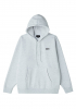 Hooded Obey Bold Box Fit ash grey