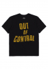T-Shirt Brixton Strummer Out Of Control black