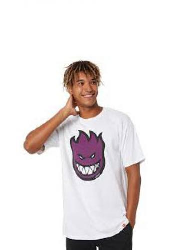 T-Shirt Spitfire Bighead Fill white/purple