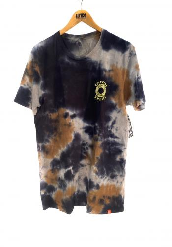 T-Shirt Spitfire Hollow Classic Tie Dye black