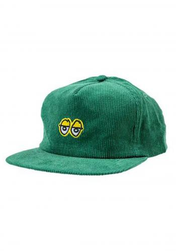 Cap Krooked Eyes Cord green
