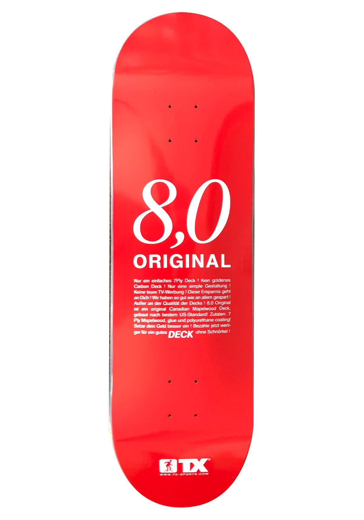 Deck TX Original Red 8.0