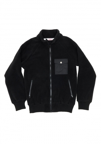 Fleece Battenwear Warm-Up black