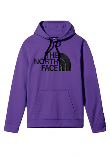 Hooded The North Face Surgent Halfdome purple