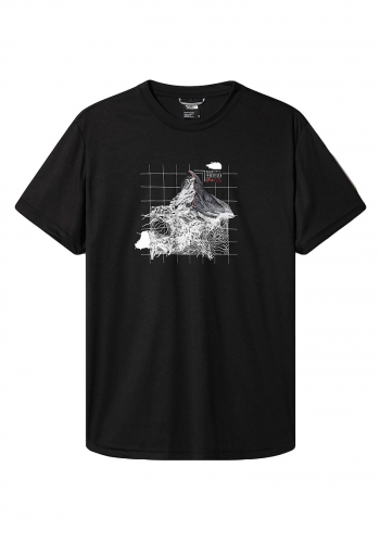 T-Shirt The North Face Alps First Ascent black