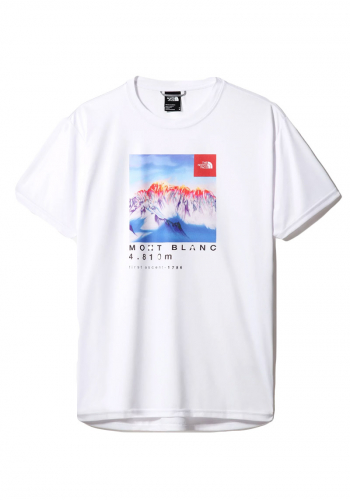 T-Shirt The North Face Alps First Ascent white