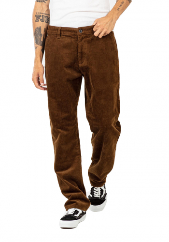 Pant Reell Regular Flex Chino brown cord