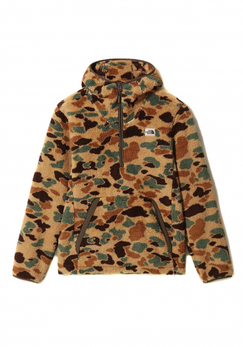 Hooded The North Face Campshire 1/4 Zip camo
