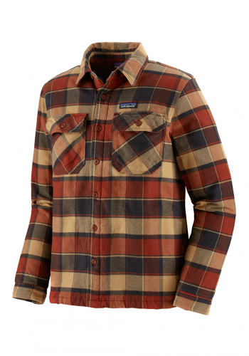 Jacke Patagonia Insulated Fjord Flannel red