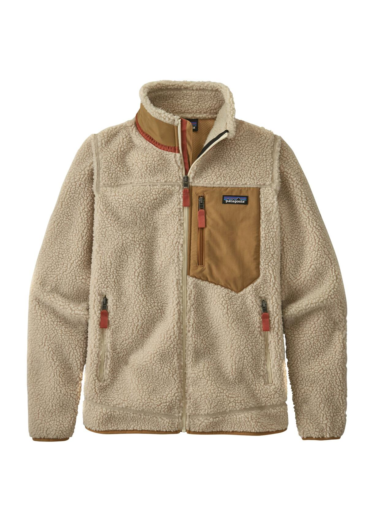 (w) Jacke Patagonia Classic Retro-X Fleece natural