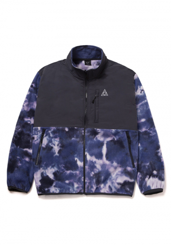 Fleece HUF Polarys Jacket violet