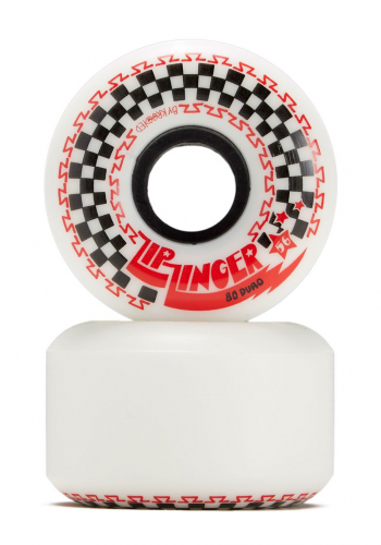 Rolle Krooked Zip Zingers White 56mm