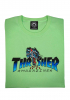T-Shirt Thrasher Leopard Mag mint