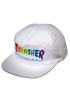 Cap Thrasher Rainbow Mag Embroidered white