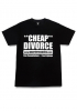 T-Shirt Quarter Snacks Divorce black
