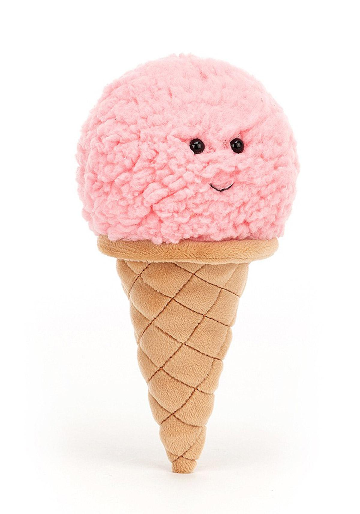 Jellycat Irresistable Ice Cream strawberry