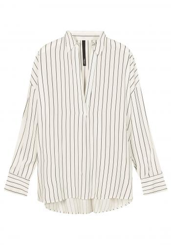 (w) Bluse 10DAYS Pinstripe white