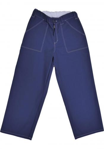 Pant Poetic Collective Painter dark blue