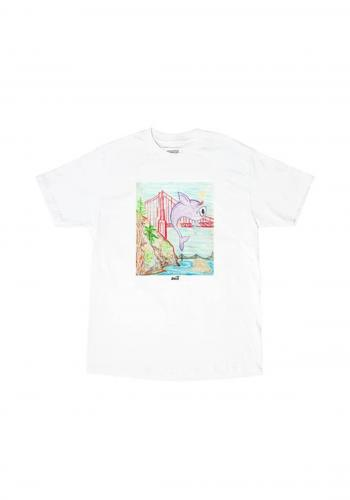 T-Shirt Snack Kirby Cove white