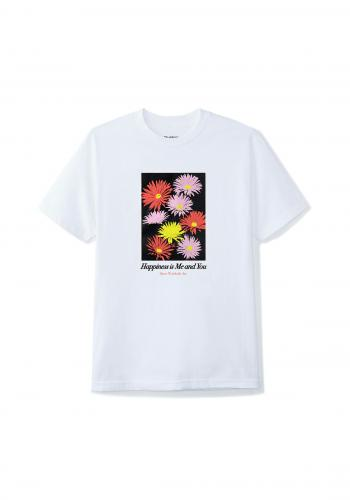 T-Shirt Butter Goods Happiness white