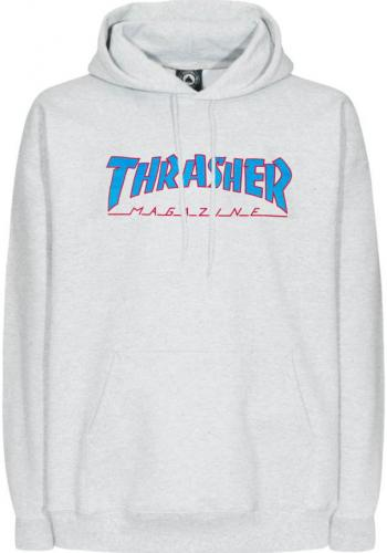 Hooded Thrasher Outlined ash-grey